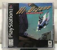 Hi Octane The Track Fights Back Playstation 1 Game PS1 Used