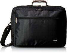 ELECOM Business Laptop Carrying Bag up to 16.4 inch Wide Black BM-SDLTBK