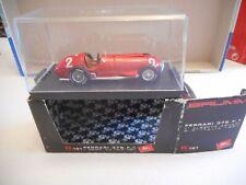 Brumm R191 Ferrari 375 F1 1:43 Alberto Ascari 1st GP Italia 1951 + box