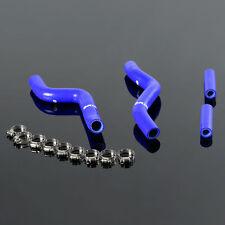 Silicone Radiator Hose Kit For SUZUKI RM250 RM 250 01-08 02 03 04 05 06  Blue