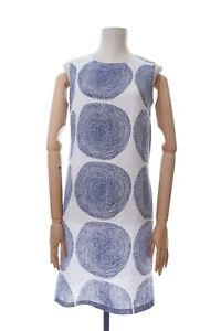Mika Piirainen Marimekko Dress Linen Long Size 38 | 10 Sleeveless