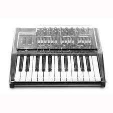 Mixware Decksaver Arturia Minibrute Synthesizer Protective Smoked Clear Cover