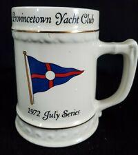 Provincetown Yacht Club July 1972 First Place Mug