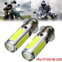 ampoule de phare de moto / VTT blanche cOB LED H6M PX15d P15D25-1BBB