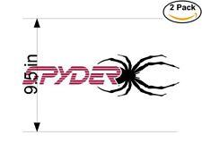 Spyder 3 2 Stickers 9.5 inches Sticker Decal