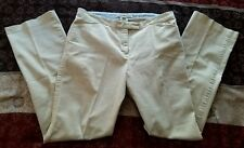 Womens Tommy Hilfiger Stretch Beige Pants Size 10