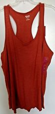 """Mossimo Supply Co  cotton blend  solid """"Gingersnap""""  racerback tank XXL"""