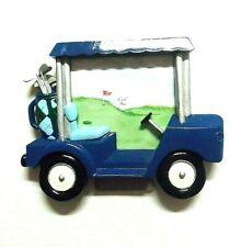 Lady Jayne Ltd Picture Frame 3x5 Golf Cart Golfing Sports Easel Tabletop Decor