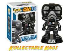 Pop Movies Star Wars Tie Fighter Pilot #51 Bobble-head Figure. Funko