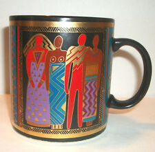 Laurel Burch Tribal Spirit Coffee Mug Vintage 1988 Hot Chocolate Tea Cup Nice
