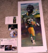 GREEN BAY PACKERS DONALD DRIVER SIGNED Driven GORALSKI Lithograph LE #4 DVD COA