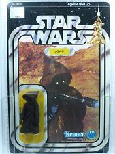 Star Wars Kenner 12-C Back Jawa figura Moc AFA 80 ENLOMADOR.