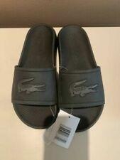 Lacoste Men's Croco Slide Sandal Size 7-13 CMA0018312 - Black