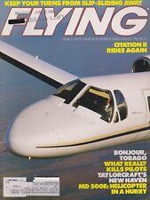Flying Magazine (Jul 1986) (Citation II, TB-10 Tobago, Taylorcraft, MD500 Helo)