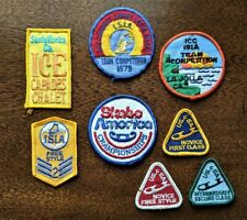 Lot of 8 Vintage Ice Capades, Isia, Usfsa Patches – Excellent Condition