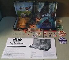 Star Wars Episode 1 Jar Jar Binks 3-D Pop Up Adventure Board Game Milton Bradley