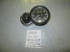 Yamaha TX750 speedometer