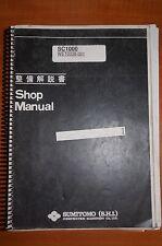 Hitachi SC1000 Shop Manual