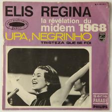 Elis Regina Foi Upa, Negrinho / Tristeza Que Se Foi (Bossa) - 45T (SP 2 titres)