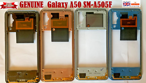 100% Genuine Samsung  Galaxy A50 SM-A505F Bezel Middle Housing chassis Frame NFC