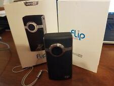 Flip UltraHD 2nd Gen Video Camera U2120B - Black, 8 GB, Records 120 Minutes