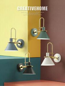 Nordic Wall Sconce Lamp Bedside Bedroom Corridor Balcony Mirror Front Lighting