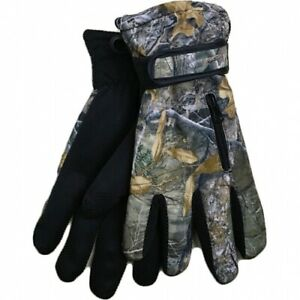 Men Sports Activity Camouflage R40 Advanced Thermal Fleece Insulated Ski Gloves