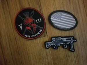 2020 Shot Show Morale Patch Lot  New