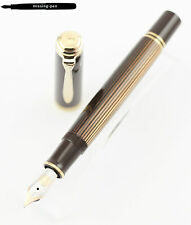 Pelikan Fountain Pen M800 Special Edition Brown Black 18K nib from 2019