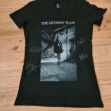 "OFFICIAL SIGNED The Getaway Plan ""Dark Horse"" shirt ladies Medium"