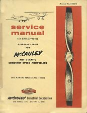 SERVICE MANUAL - McCAULEY MET-L-MATIC CONSTANT SPEED PROPELLERS