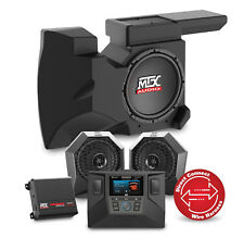 MTX RZRSYSTEM2 Two Speaker, Dual Amplifier, and Single Subwoofer Polaris RZR