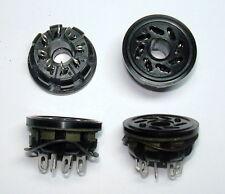 4St.* 8-pin Oktal Socket Röhrenfassung 6L6, 6V6, 6SN7 Chassismontage Neu