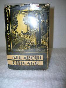 All About Chicago by John & Ruth Ashenhurst 1933 Century of Progess Turzak Illus