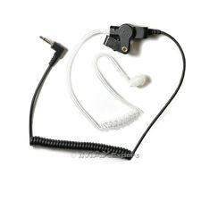 3.5mm Listen Only FBI Earpiece Earphone for KENWOOD KMC-25 KMC-26 Speaker Mic