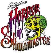 Artool Iwata Horror of Skullmaster Airbrush Template Set of 6 Positive, Negative