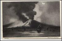NAPOLI Neapel ~1910 Vesuvio in Eruzione Vulkanausbruch