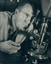 1941 Westinghouse Microchemist Performing Microphotography Press Photo
