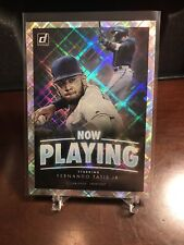 2020 Donruss - Now Playing - Fernando Tatis Jr - San Diego Padres