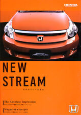 JDM Honda Stream New Release Literature (2)