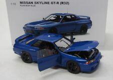 Nissan Skyline GT-R / R32 ( 1992 ) blue / AutoArt 1:18