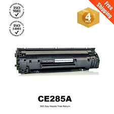 4PK CE285A Toner for HP 85A Laserjet Pro P1102 P1102W M1132 M1212nf M1217nfw