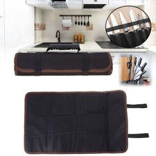Koch Messertasche Rolltasche Küchenmesser Aufbewahrung Messerkoffer 14 Fächer KI