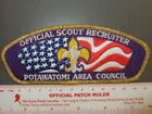 Boy Scout Potawatomi Area C SA-6  CSP 2267Y
