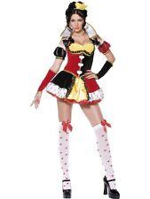 COSTUME REGINA DI CUORI tg.S Carnevale Alice Paese Meraviglie 110 36173S
