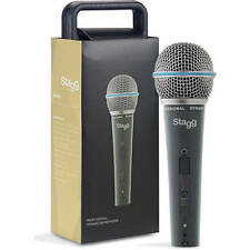 Stagg SDM60 Professional Cardioid Dynamic Microphone With 5m XLR Cable