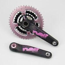 Truvativ Noir Carbon MTB Crank Set, 3x9 Speed, 170mm, GXP, SRAM, Pink