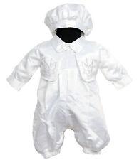 Satin Baby Christening Clothing
