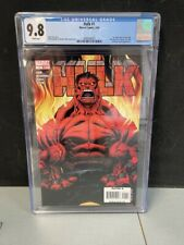 HULK #1 CGC GRADED 9.8 WHITE PAGES 2008 1st appearance RED HULK 3692048002
