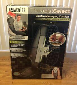Homedics SBM-200 Shiatsu Massaging Kneading Cushion w/Box Tested